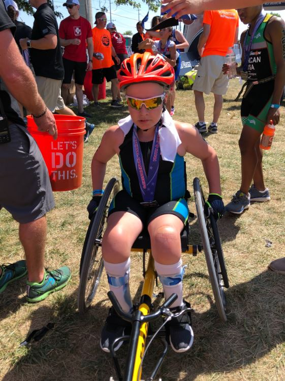 Para-Athlete Team to Compete in Duathlon 13-year-old Salem Triathlete overcomes challenges to compete in Salem Rotary Multi-Sport Riverfest